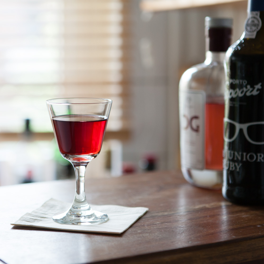 Diamond Gin Port Cask Cocktail