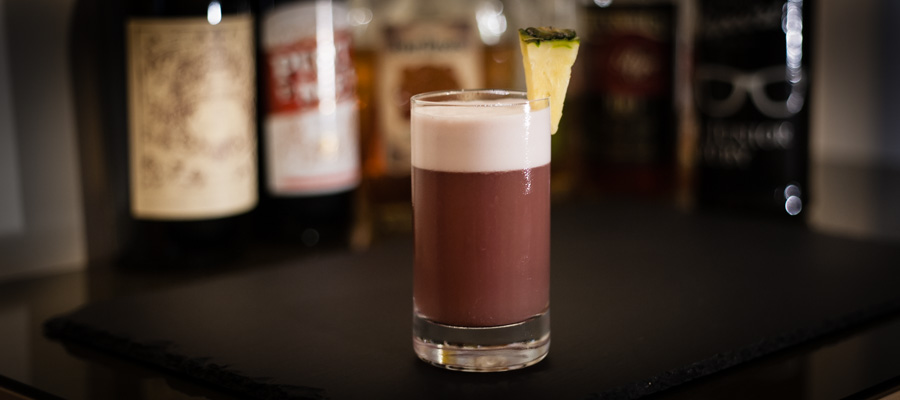 Elk's Fizz Cocktail BB