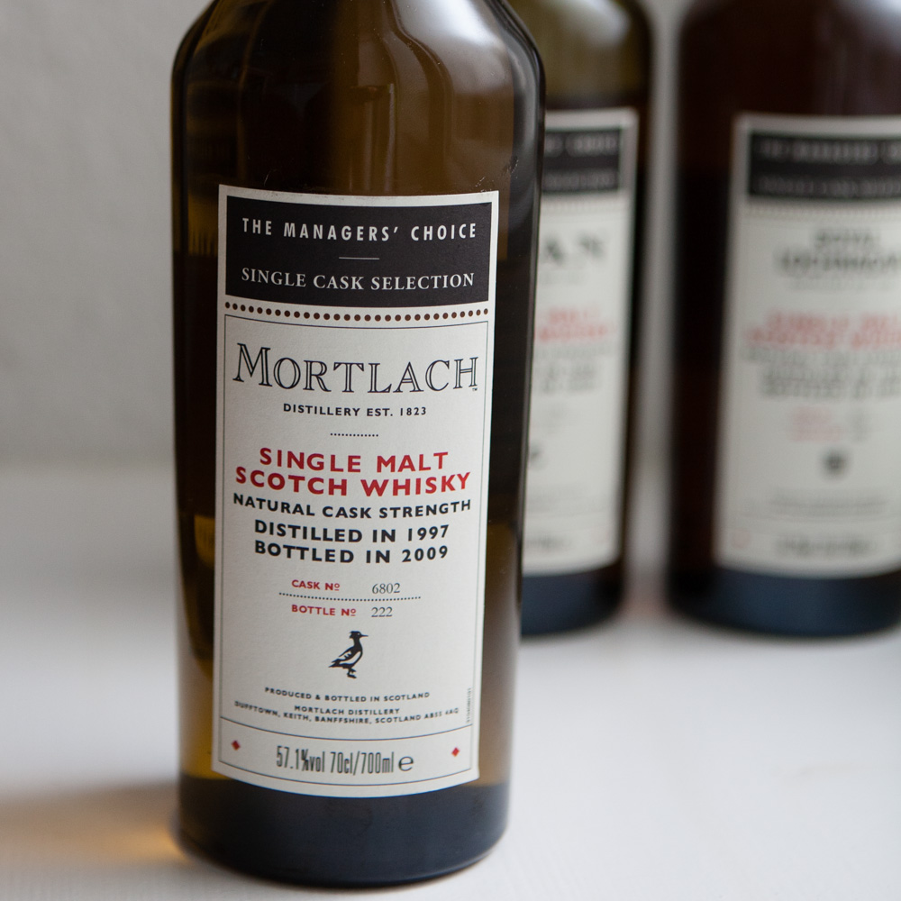 Whisky Managers' Choice Mortlach