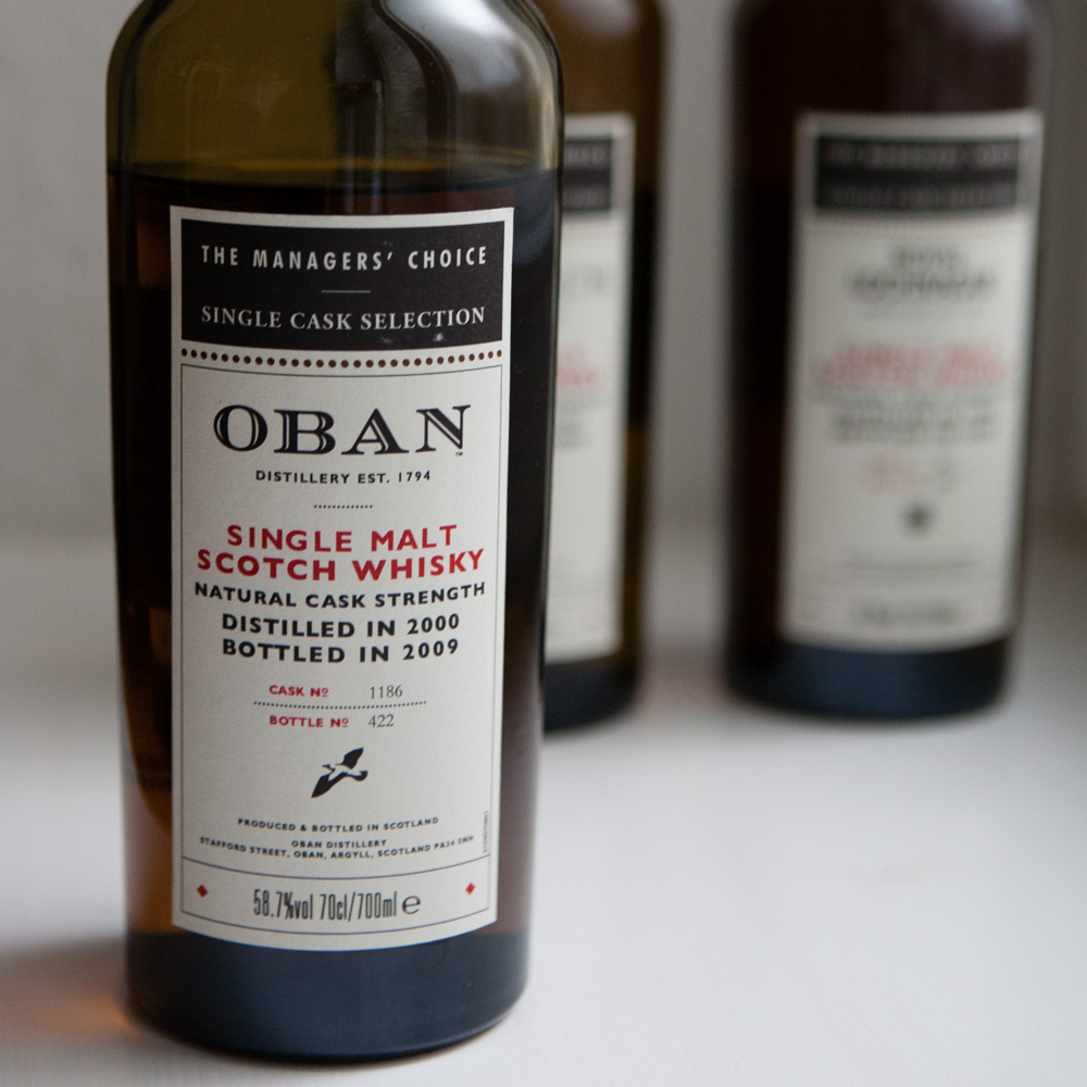 Whisky Managers' Choice Oban