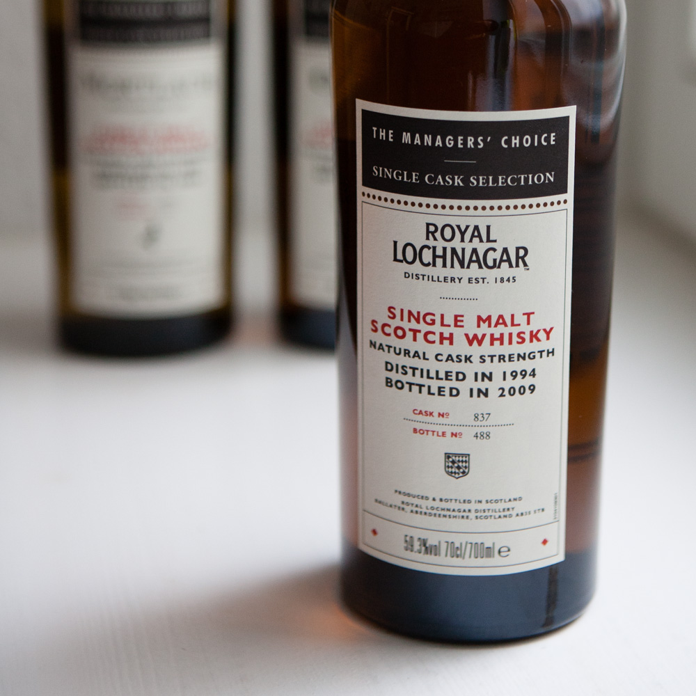 Whisky Managers' Choice Royal Lochnagar