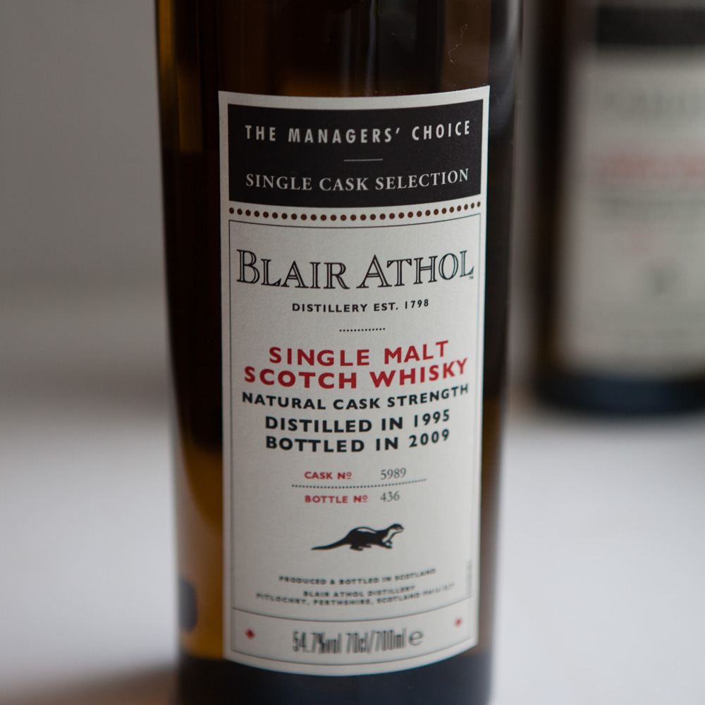 Whisky: Blair Athol Managers' Choice