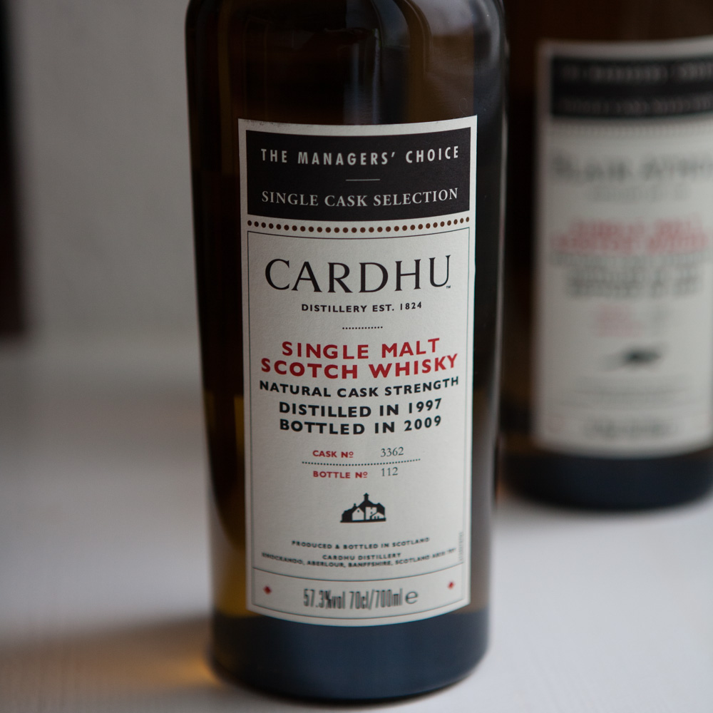 Whisky: Cardhu Managers' Choice