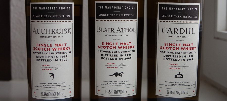 Whisky Managers Choice BT-1