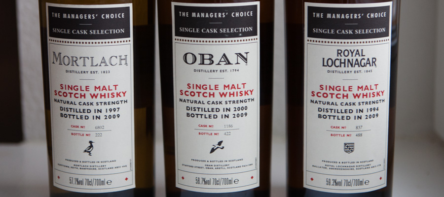Whisky Managers Choice BT-4